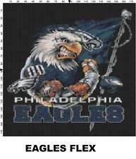 NFL Philadelphia Eagles Mascot cross stitch pattern