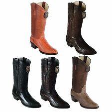 Los Altos, Western, Cowboy Men Boots, Ostrich Leg, H-65 Round Toe,Check Availabl