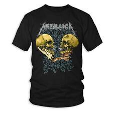 Oficial Metallica-triste pero cierto-Para Hombre Negro Camiseta