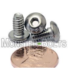 #10-24 - Stainless Steel Button Head Socket Cap Screws SAE Coarse Thread 18-8 A2