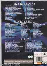 DVD 90s 70s 80s HOMENAJE A ROCIO JURADO se nos rompio elamor COMO UNA OLA Selena