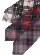 Tartan Tie Clan MacPherson Scottish Wool Plaid