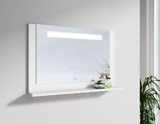 LED Spiegel Badspiegel 60 / 70 / 90 cm Licht Bad schwarz weiß Touch