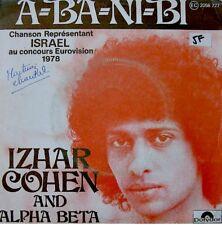 ++IZHAR COHEN & ALPHA BETA a-ba-ni-bi/illusions SP 1978 POLYDOR VG++