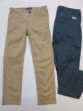 Garçons Designer Pantalon Chino Slim Leg 2 3 5 6 7 8 9 10 13 14 15 16 ans RRP £ 49