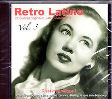 CD 21T RETRO LATINO VOL.3 EARTHA KITT/DIETRICH/FITZGERALD/MONROE/BAKER/BOYER !!
