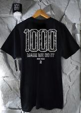 Ride rico el 1000 Club De Motocicleta Camiseta Ropa Camisetas casual moto