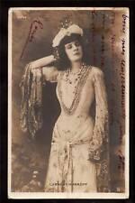 1905 real photo opera carrere-xanroff france postcard