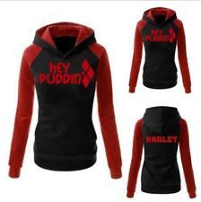 New Hat hoodies Squad Harley Quinn Printed Pullover Pocket hoodie S-5XL 890