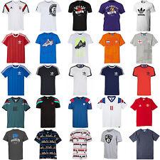 Adidas Uomo T-shirt a girocollo cotone sport moda originali ESSENTIALS ESTATE