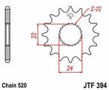 F39417: JT SPROCKETS Piñon JT 394 de acero con 17 dientes