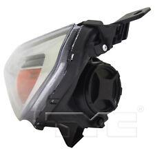 Fits 18-19 Hyundai Elantra GT Hatchback Black Halogen Headlight Driver Left Side