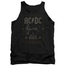 "AC/DC ""Rock Label"" Men's Adult or Girl's Junior Tank"