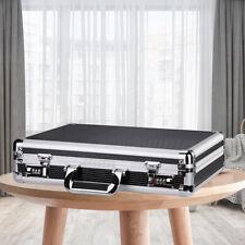 Waterproof Aluminum Hard Briefcase Office Laptop File Password Lock Foam Cases