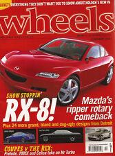 Wheels Feb 01 Elise LS430 RX-8 9-5 Aero Wagon Prelude VTi-R 200SX WRX Celica ZR