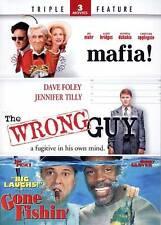 Mafia! & The Wrong Guy + Gone Fishin - TF DVD, Joe Pesci,Danny Glover,Dave Foley