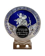 Triumph TR6 Car Logo St Chris Car Badge + Fixings Choice of 3 Colours