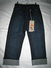 NEU! Vanilia Damen Jeans SVENJA  7/8 Länge  Blue Denim, figurbetont Art.1033797