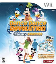 Dance Dance Revolution: Disney Grooves (Nintendo Wii, 2009) CIB/LN