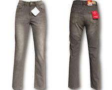 Stooker Damen Stretch Jeans Hose  - Zermatt - SLIM FIT -  Grey Used -