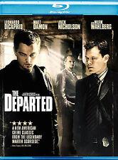 The Departed (Blu-ray Disc, 2007) Leonardo Dicaprio Matt Damon Jack Nicholson