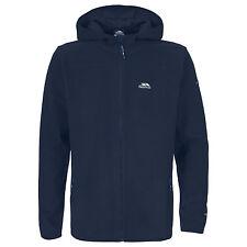 Trespass Leadville Microfleece Navy Blue Full Zip Hooded Fleece Jacket XXS XS