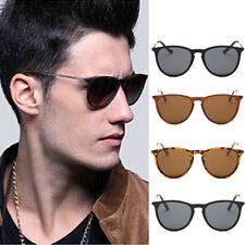 Womens Cat Eye Sunglasses Mens Fashion Shades Oval Metal Glasses UV400 Eyewear
