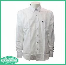 Camicia uomo cotone manica lunga Armata di Mare camicie button down con taschino