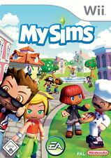 MySims (Nintendo Wii, 2007, DVD-Box)