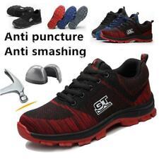 new styles d516f 5fc1f sécurité hommes léger Baskets Chaussures de travail embout coqué acier  femmes