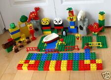 Lego Duplo Zoo Animals Cave Men 102 pcs Blocks Block
