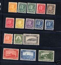 Canada  162-177  Mint    catalog  $505.00