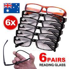 4934ff2c3d4 Frame Magnifying Mens Ladies Nerd Spectacle Reading Glasses 6 Pairs Wayfarer