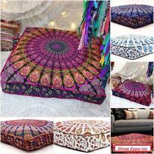 Large Mandala Floor Pillow Decor Gypsy Meditation Pillow Throw Dog Bed Cover