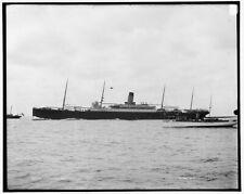 1901 Photo of S.S. Cymric, White Star Line