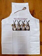 SIMON DREW 100% humorous cotton aprons-26 designs available