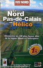 Cassette vidéo VHS LE NORD PAS-DE-CALAIS en hélicoptère terrils villes forets