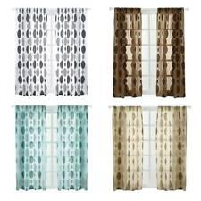 Tulle Voile Door Window Curtain Drape Panel Sheer Scarf Valances Curtain LJ
