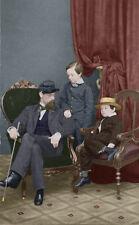 Willie & Tad Lincoln Lockwood Todd color photo Civil War Children - 1861 -19235