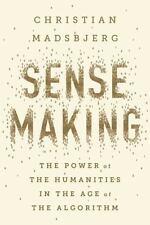 SENSEMAKING - MADSBJERG, CHRISTIAN - NEW HARDCOVER BOOK