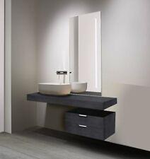 Mensola Sospesa per Lavabo Design moderno L 120 cm,compra dal produttore!