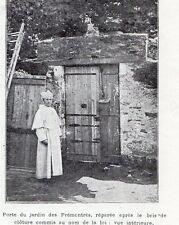 44 NANTES PORTE JARDIN DES PREMONTRES APRES BRIS DE CLOTURE PETITE IMAGE 1903