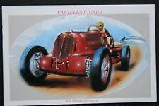 Alfa Romeo Bimotore  Motor Racing Car   Picture Card # VGC