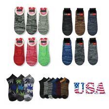 6-12 Pack Loafer Socks Marijuana Hemp Leaf Casual Loafer Sock Boat Liner Unisex