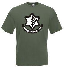 Maglia Israeli Army J587 T-shirt Militare da collezionismo IDF Israele Military