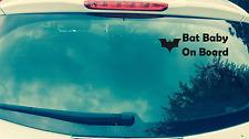 Batbay Pegatina de coche Batman DC divertido Car5