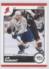 2010-11 Score #280 JP Dumont Nashville Predators J.P. Hockey Card
