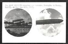 Parahyba Paraiba do Norte rppc Graf Zeppelin Brazil 1936