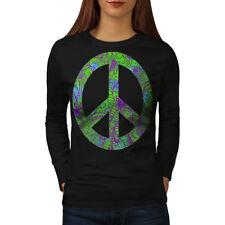 Hippie Peace Forever Women Long Sleeve T-shirt NEW | Wellcoda