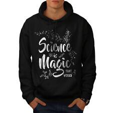 Science Magic Work Men Hoodie NEW | Wellcoda